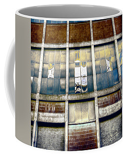 Coffee Mug featuring the photograph Warehouse Wall by Wayne Sherriff