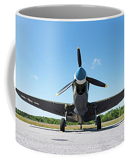 Warhawk At Rest - 2018 Christopher Buff, Www.aviationbuff.com Coffee Mug