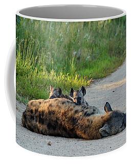 Warily Watching Coffee Mug