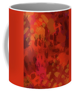 Warm Abstract 1 Coffee Mug