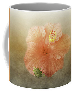 Warm Hibiscus Coffee Mug