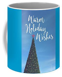 Warm Holiday Wishes- Art By Linda Woods Coffee Mug