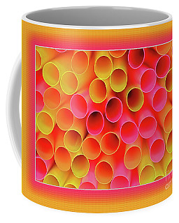 Coffee Mug featuring the photograph Warm In Neon By Kaye Menner by Kaye Menner