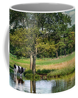 Coffee Mug featuring the photograph Chilled Milk by Robin-Lee Vieira