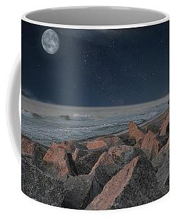Warm Moonrise At For Fisher Coffee Mug
