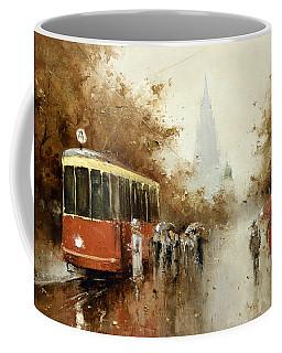 Warm Moscow Autumn Of 1953 Coffee Mug