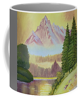 Warm Mountain Coffee Mug