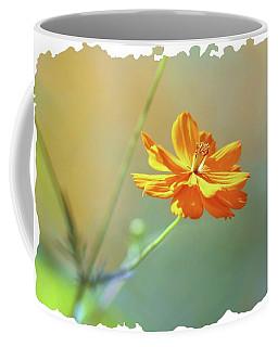 Coffee Mug featuring the photograph Warm Pastel Flower by Ellen O'Reilly