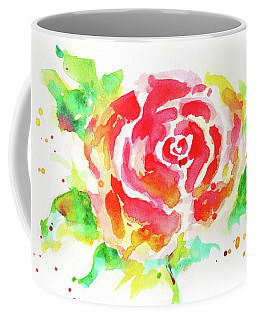 Warm Red Rose  Coffee Mug