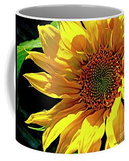 Warm Welcoming Sunflower Coffee Mug