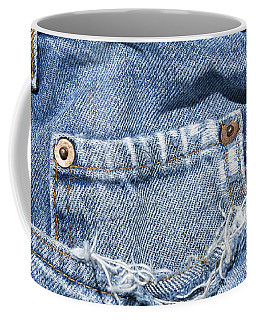 Worn Jeans Coffee Mug