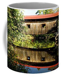 Warner Covered Bridge Coffee Mug by Greg Fortier