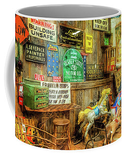 Warning Building Unsafe Coffee Mug