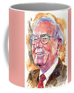Warren Buffett Painting Coffee Mug