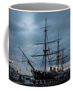 Warrior At Christmas Coffee Mug