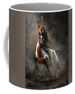 Warrior Coffee Mug by Daniel Eskridge