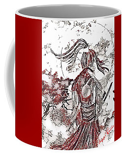 Warrior Moon Anime Coffee Mug by Vennie Kocsis