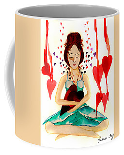 Warrior Woman - Tend To Your Heart Coffee Mug