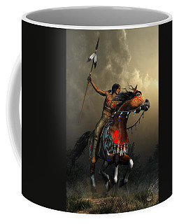 Warriors Of The Plains Coffee Mug