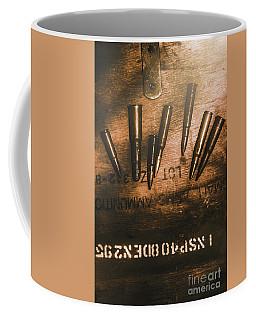 Wars And Old Ammunition Coffee Mug