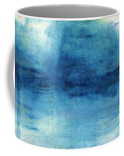 Wash Away- Abstract Art By Linda Woods Coffee Mug