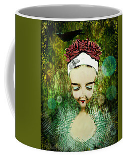 Coffee Mug featuring the digital art Wash Your Face Each Night by Delight Worthyn