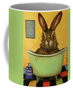 Wash Your Hare Coffee Mug