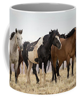 Coffee Mug featuring the photograph Washakie's Band by Ronnie and Frances Howard