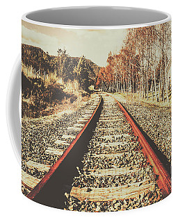Washed Out Lines Coffee Mug