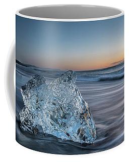 Washed Up Ice At Dawn Coffee Mug