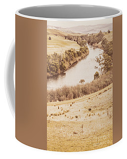 Washes Of Rustic Country Coffee Mug