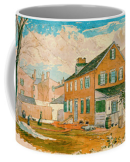 Washington D.c. Square 1874 Coffee Mug