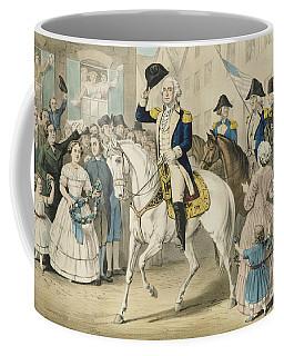 Washington Entering New York On The Evacuation Of The City By The British On Nov 25th 1783 Coffee Mug