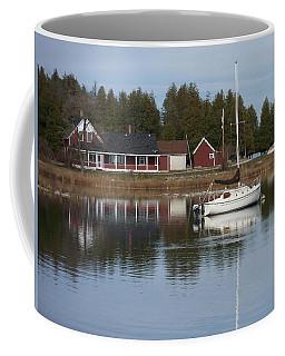 Washington Island Harbor 4 Coffee Mug