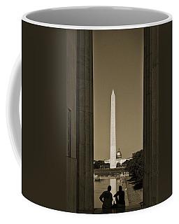 Washington Monument And Capitol #4 Coffee Mug