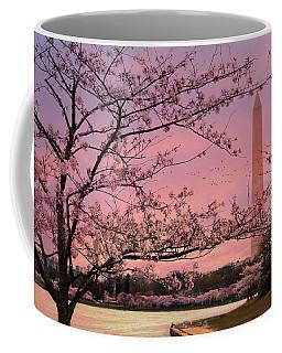 Washington Monument Cherry Blossom Festival Coffee Mug