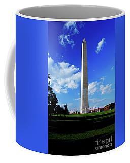 Coffee Mug featuring the photograph Washington Monument by Gary Wonning