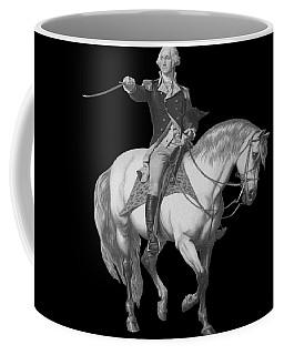 Washington Receiving A Salute At Trenton Coffee Mug