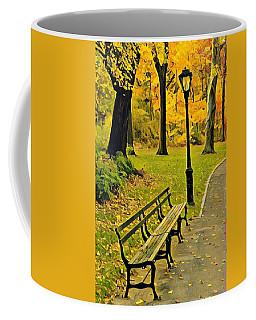 Washington Square Bench Coffee Mug