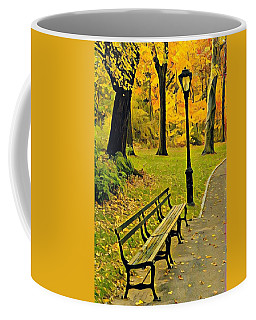 Washington Square Bench Coffee Mug