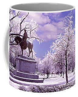 Coffee Mug featuring the photograph Washington Square Park by Steve Karol
