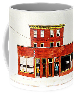 Washington Street Barbers Coffee Mug