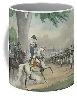 Washington Taking Command Of The American Army At Cambridge, Massachusetts On 3 July 1775 Coffee Mug