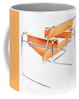 Wassily Chair Mid-century Modern Coffee Mug by Edward Fielding