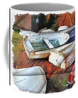 Wat-0012 Tender Boats Coffee Mug by Digital Oil