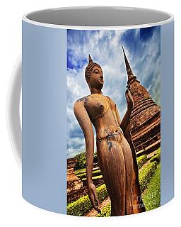 Wat Sra Sri In Sukhothai Thailand Southeast Asia Coffee Mug