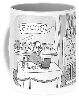Watch The Author Miss His Deadline Coffee Mug