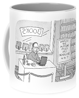 Watch The Author Miss His Deadline Coffee Mug