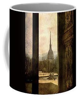 Watching Antonelliana Tower From The Window Coffee Mug