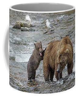 Watching For The Sockeye Salmon Coffee Mug